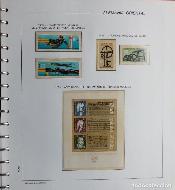 Sellos: COLECCIÓN ALEMANIA ORIENTAL 1948 A 1972, 1973 A 1981 BERLIN, OCCIDENTAL, ALBUM DE SELLOS - Foto 223 - 67324821