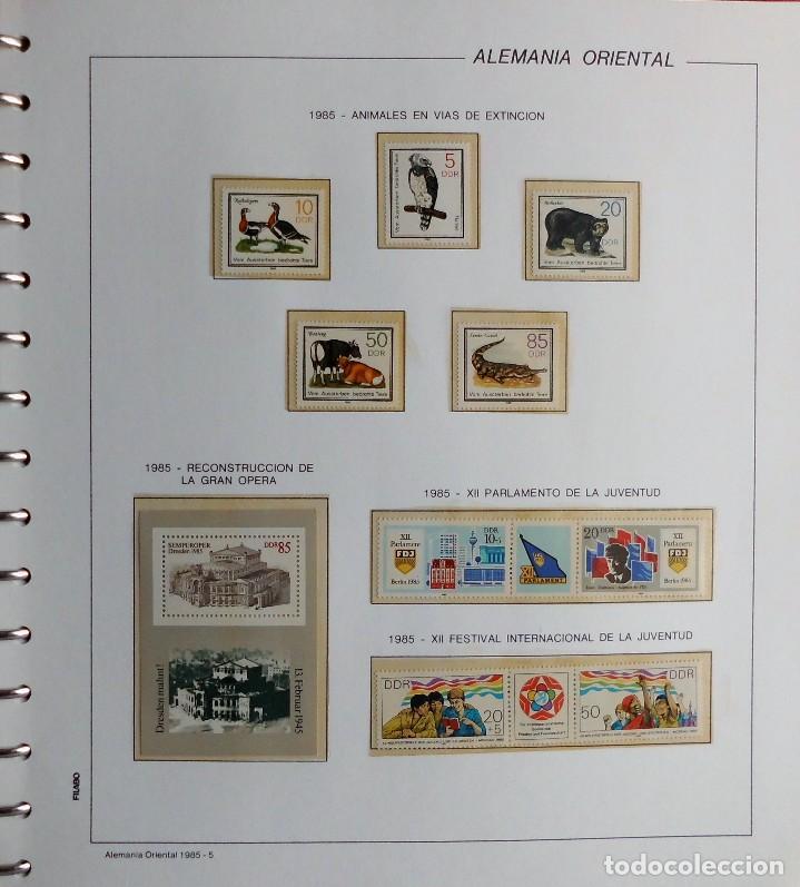 Sellos: COLECCIÓN ALEMANIA ORIENTAL 1948 A 1972, 1973 A 1981 BERLIN, OCCIDENTAL, ALBUM DE SELLOS - Foto 224 - 67324821