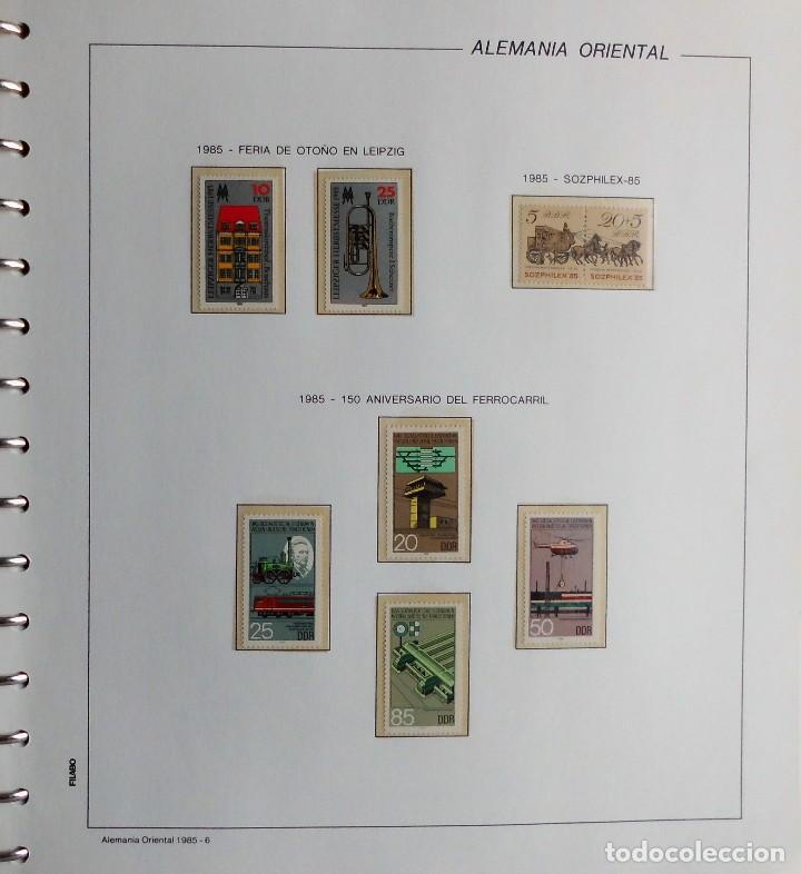 Sellos: COLECCIÓN ALEMANIA ORIENTAL 1948 A 1972, 1973 A 1981 BERLIN, OCCIDENTAL, ALBUM DE SELLOS - Foto 225 - 67324821
