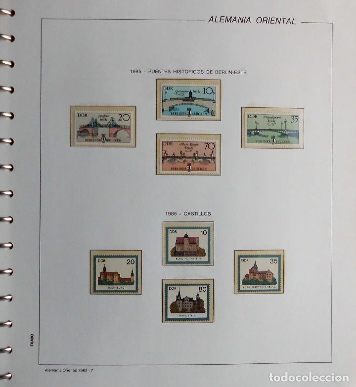 Sellos: COLECCIÓN ALEMANIA ORIENTAL 1948 A 1972, 1973 A 1981 BERLIN, OCCIDENTAL, ALBUM DE SELLOS - Foto 226 - 67324821