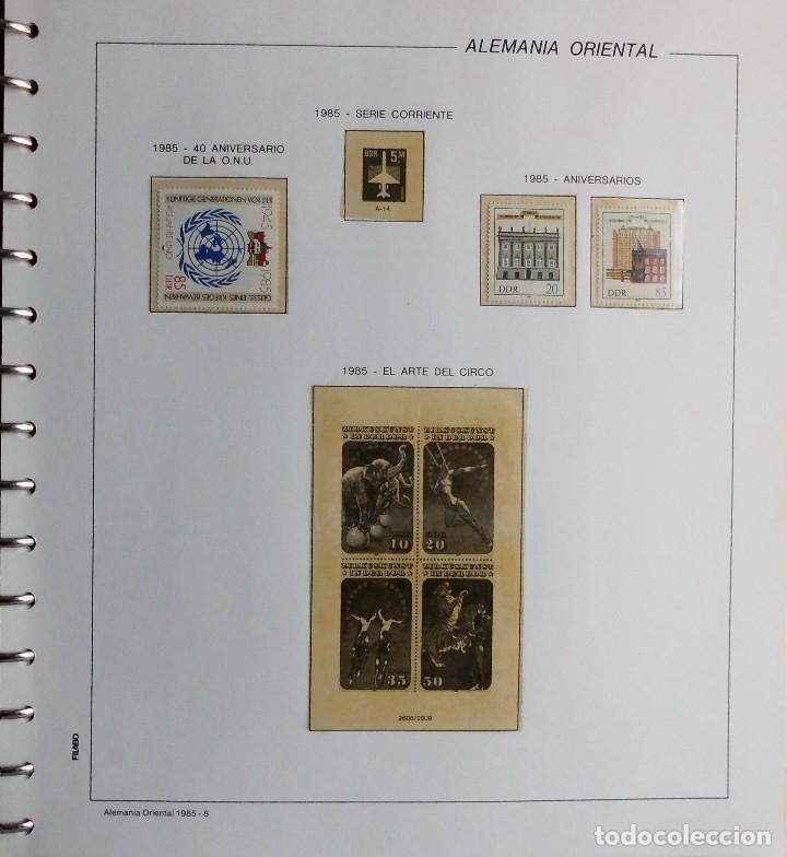 Sellos: COLECCIÓN ALEMANIA ORIENTAL 1948 A 1972, 1973 A 1981 BERLIN, OCCIDENTAL, ALBUM DE SELLOS - Foto 227 - 67324821