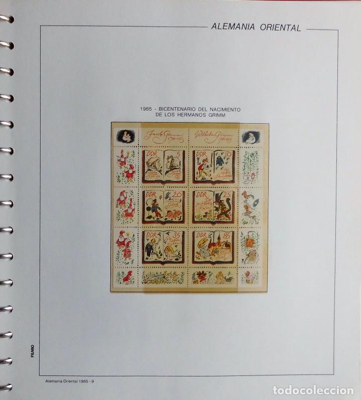 Sellos: COLECCIÓN ALEMANIA ORIENTAL 1948 A 1972, 1973 A 1981 BERLIN, OCCIDENTAL, ALBUM DE SELLOS - Foto 228 - 67324821