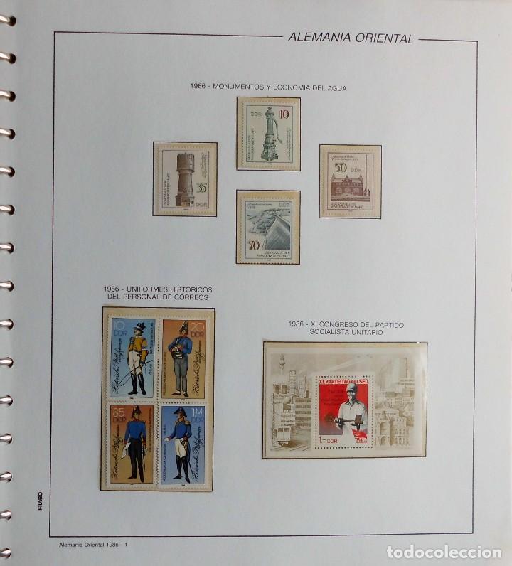 Sellos: COLECCIÓN ALEMANIA ORIENTAL 1948 A 1972, 1973 A 1981 BERLIN, OCCIDENTAL, ALBUM DE SELLOS - Foto 229 - 67324821