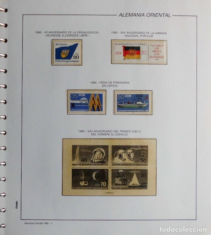 Sellos: COLECCIÓN ALEMANIA ORIENTAL 1948 A 1972, 1973 A 1981 BERLIN, OCCIDENTAL, ALBUM DE SELLOS - Foto 230 - 67324821
