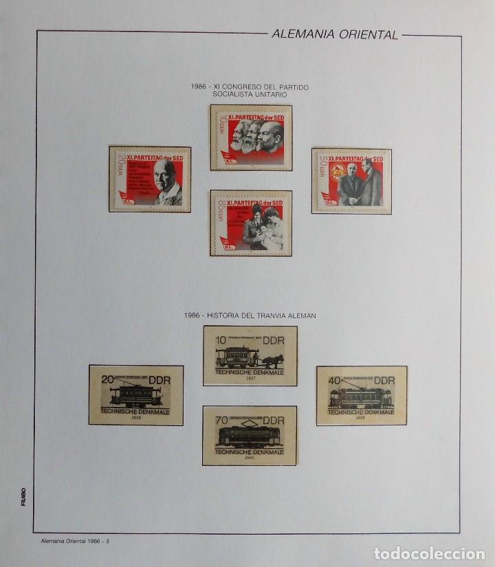 Sellos: COLECCIÓN ALEMANIA ORIENTAL 1948 A 1972, 1973 A 1981 BERLIN, OCCIDENTAL, ALBUM DE SELLOS - Foto 231 - 67324821