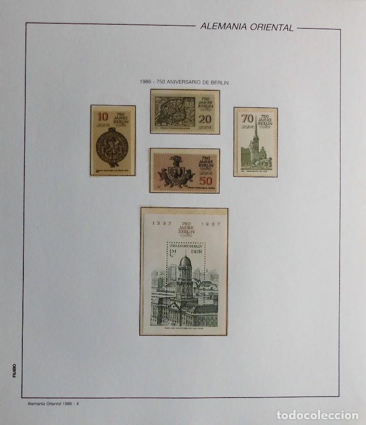 Sellos: COLECCIÓN ALEMANIA ORIENTAL 1948 A 1972, 1973 A 1981 BERLIN, OCCIDENTAL, ALBUM DE SELLOS - Foto 232 - 67324821