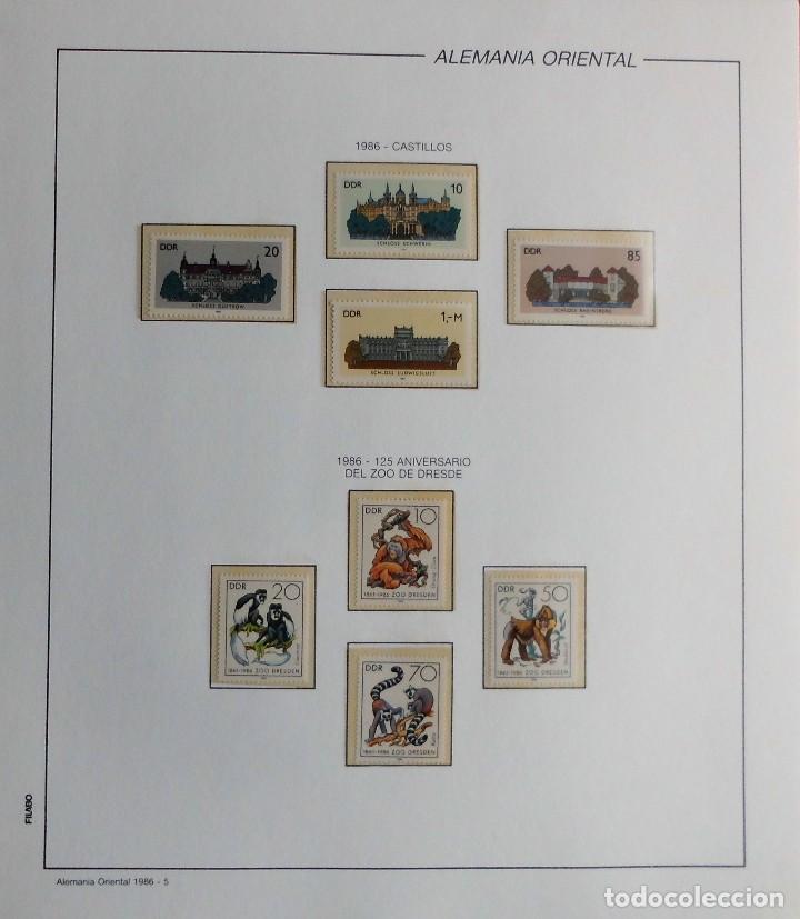 Sellos: COLECCIÓN ALEMANIA ORIENTAL 1948 A 1972, 1973 A 1981 BERLIN, OCCIDENTAL, ALBUM DE SELLOS - Foto 233 - 67324821