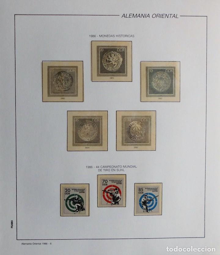 Sellos: COLECCIÓN ALEMANIA ORIENTAL 1948 A 1972, 1973 A 1981 BERLIN, OCCIDENTAL, ALBUM DE SELLOS - Foto 234 - 67324821