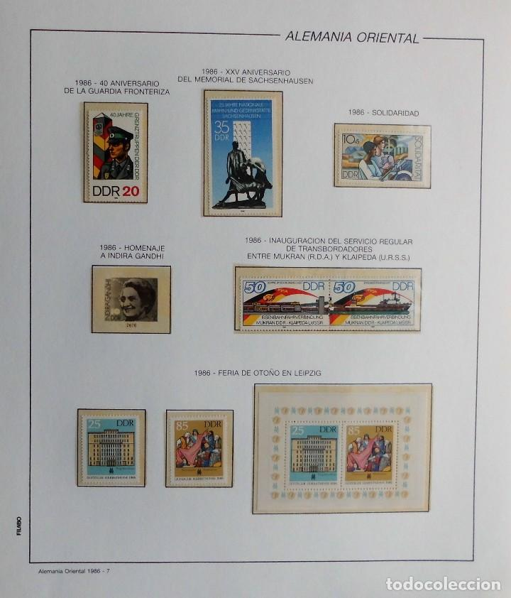 Sellos: COLECCIÓN ALEMANIA ORIENTAL 1948 A 1972, 1973 A 1981 BERLIN, OCCIDENTAL, ALBUM DE SELLOS - Foto 235 - 67324821