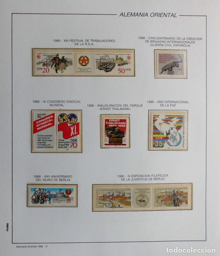 Sellos: COLECCIÓN ALEMANIA ORIENTAL 1948 A 1972, 1973 A 1981 BERLIN, OCCIDENTAL, ALBUM DE SELLOS - Foto 236 - 67324821