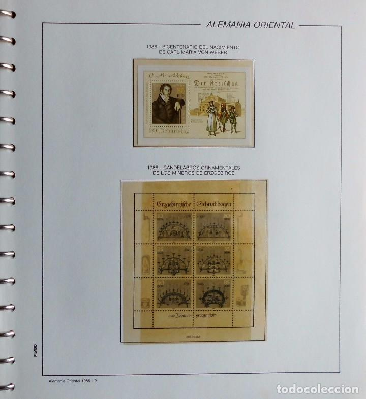 Sellos: COLECCIÓN ALEMANIA ORIENTAL 1948 A 1972, 1973 A 1981 BERLIN, OCCIDENTAL, ALBUM DE SELLOS - Foto 237 - 67324821