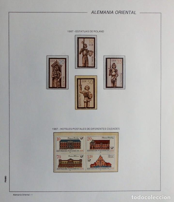 Sellos: COLECCIÓN ALEMANIA ORIENTAL 1948 A 1972, 1973 A 1981 BERLIN, OCCIDENTAL, ALBUM DE SELLOS - Foto 238 - 67324821