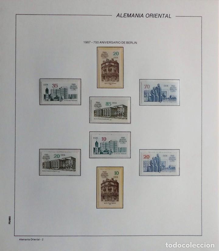 Sellos: COLECCIÓN ALEMANIA ORIENTAL 1948 A 1972, 1973 A 1981 BERLIN, OCCIDENTAL, ALBUM DE SELLOS - Foto 239 - 67324821