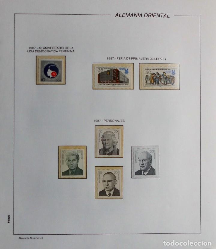 Sellos: COLECCIÓN ALEMANIA ORIENTAL 1948 A 1972, 1973 A 1981 BERLIN, OCCIDENTAL, ALBUM DE SELLOS - Foto 240 - 67324821