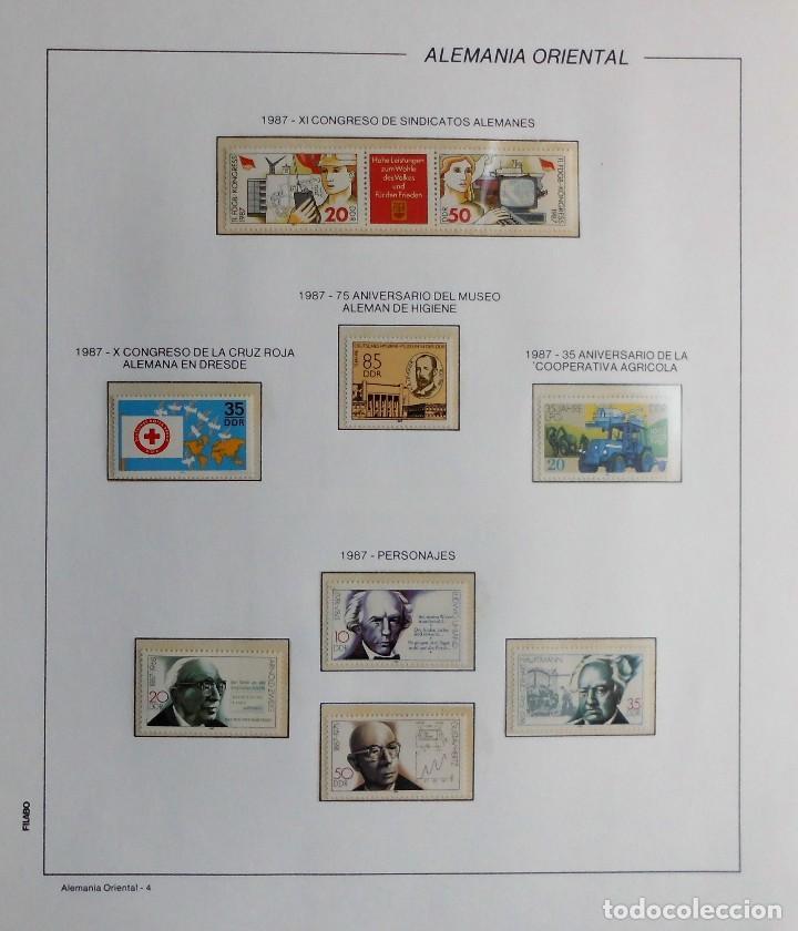 Sellos: COLECCIÓN ALEMANIA ORIENTAL 1948 A 1972, 1973 A 1981 BERLIN, OCCIDENTAL, ALBUM DE SELLOS - Foto 241 - 67324821