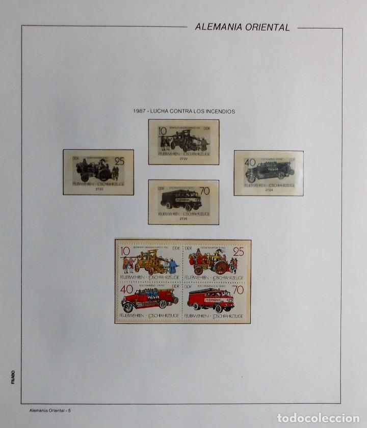 Sellos: COLECCIÓN ALEMANIA ORIENTAL 1948 A 1972, 1973 A 1981 BERLIN, OCCIDENTAL, ALBUM DE SELLOS - Foto 242 - 67324821