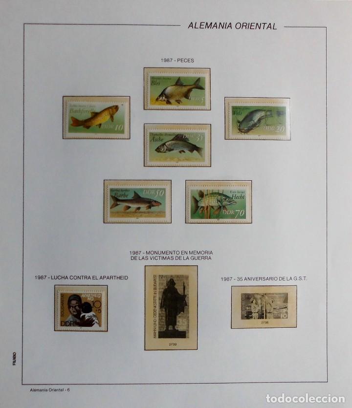 Sellos: COLECCIÓN ALEMANIA ORIENTAL 1948 A 1972, 1973 A 1981 BERLIN, OCCIDENTAL, ALBUM DE SELLOS - Foto 243 - 67324821