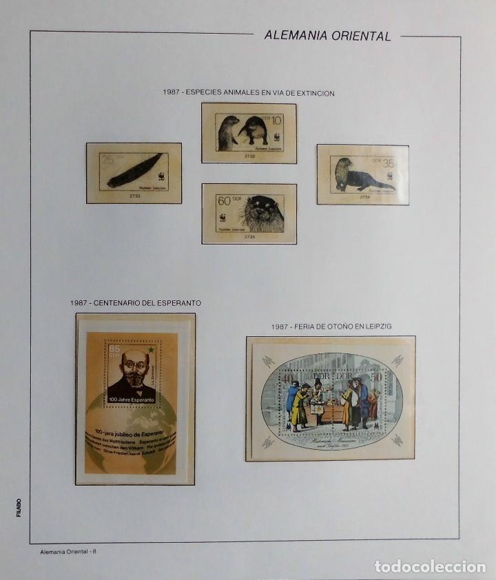 Sellos: COLECCIÓN ALEMANIA ORIENTAL 1948 A 1972, 1973 A 1981 BERLIN, OCCIDENTAL, ALBUM DE SELLOS - Foto 245 - 67324821