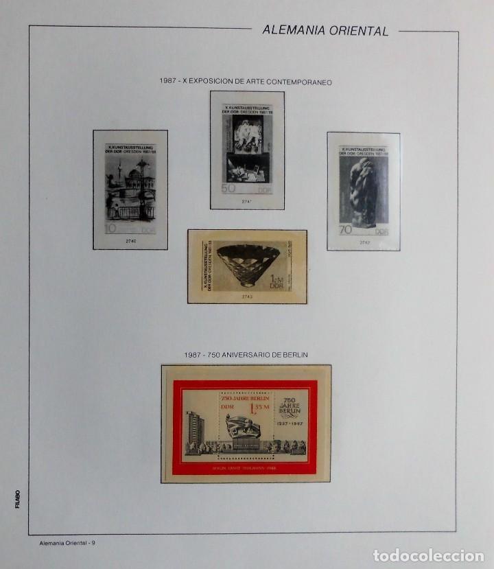 Sellos: COLECCIÓN ALEMANIA ORIENTAL 1948 A 1972, 1973 A 1981 BERLIN, OCCIDENTAL, ALBUM DE SELLOS - Foto 246 - 67324821