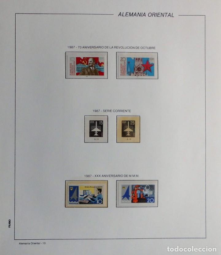Sellos: COLECCIÓN ALEMANIA ORIENTAL 1948 A 1972, 1973 A 1981 BERLIN, OCCIDENTAL, ALBUM DE SELLOS - Foto 247 - 67324821