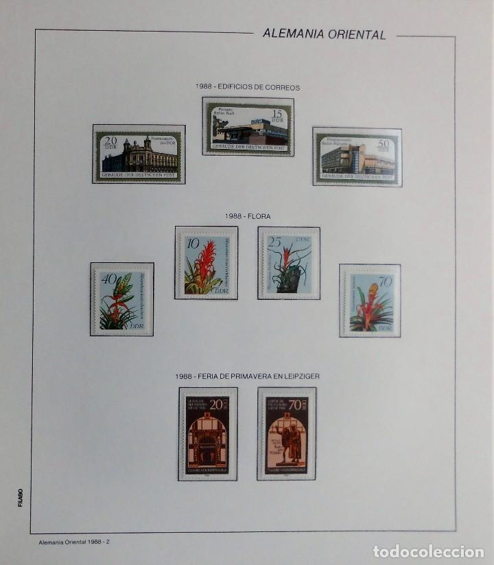 Sellos: COLECCIÓN ALEMANIA ORIENTAL 1948 A 1972, 1973 A 1981 BERLIN, OCCIDENTAL, ALBUM DE SELLOS - Foto 250 - 67324821