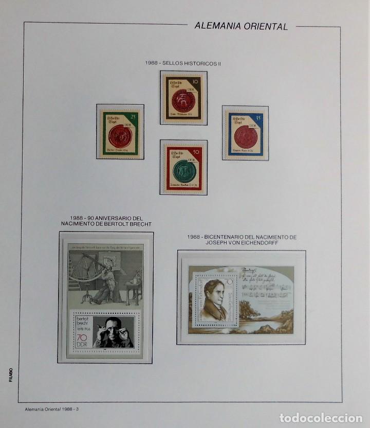 Sellos: COLECCIÓN ALEMANIA ORIENTAL 1948 A 1972, 1973 A 1981 BERLIN, OCCIDENTAL, ALBUM DE SELLOS - Foto 251 - 67324821