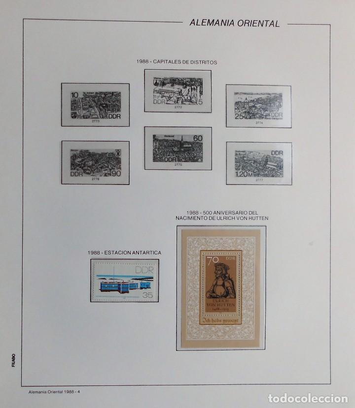 Sellos: COLECCIÓN ALEMANIA ORIENTAL 1948 A 1972, 1973 A 1981 BERLIN, OCCIDENTAL, ALBUM DE SELLOS - Foto 252 - 67324821