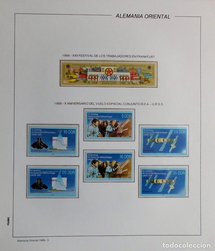 Sellos: COLECCIÓN ALEMANIA ORIENTAL 1948 A 1972, 1973 A 1981 BERLIN, OCCIDENTAL, ALBUM DE SELLOS - Foto 253 - 67324821
