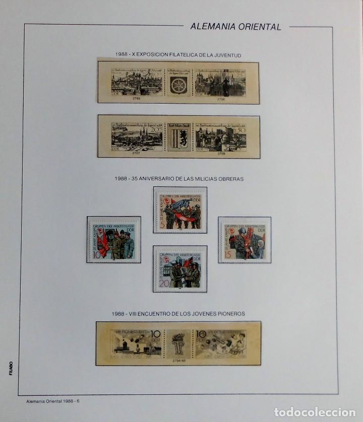 Sellos: COLECCIÓN ALEMANIA ORIENTAL 1948 A 1972, 1973 A 1981 BERLIN, OCCIDENTAL, ALBUM DE SELLOS - Foto 254 - 67324821