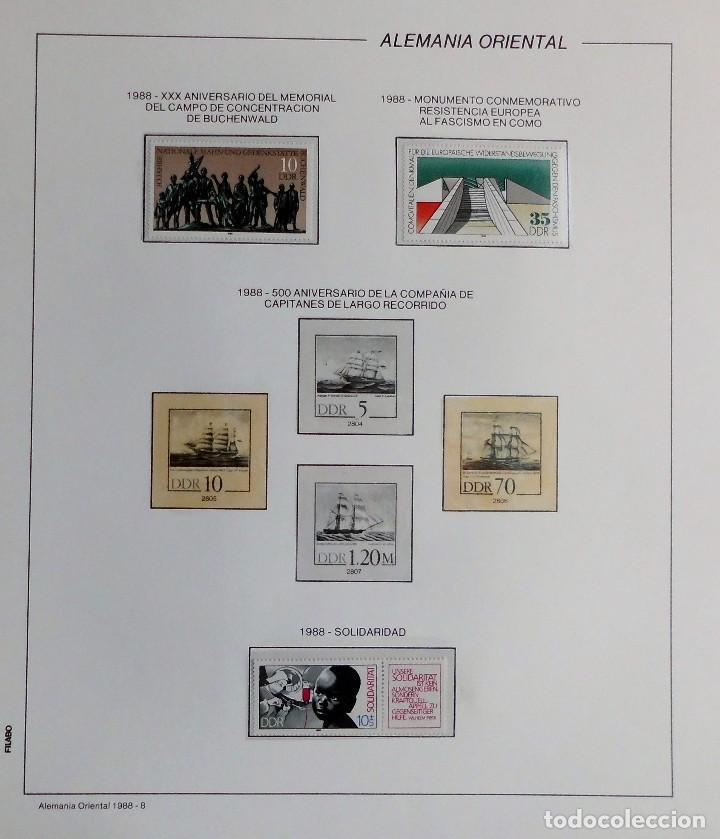 Sellos: COLECCIÓN ALEMANIA ORIENTAL 1948 A 1972, 1973 A 1981 BERLIN, OCCIDENTAL, ALBUM DE SELLOS - Foto 256 - 67324821