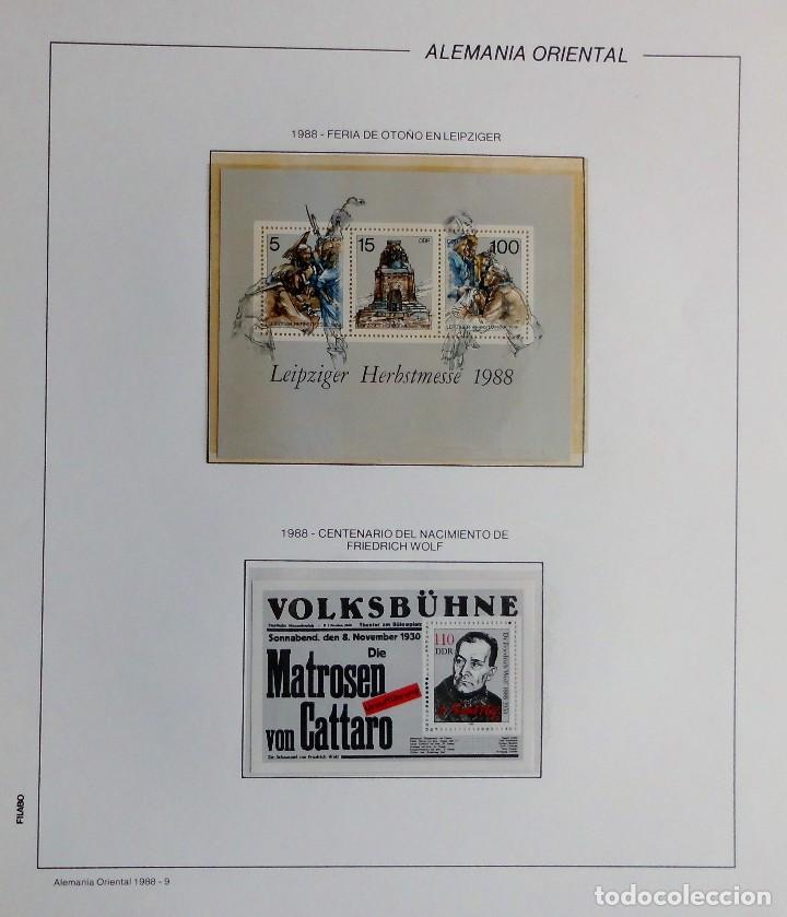 Sellos: COLECCIÓN ALEMANIA ORIENTAL 1948 A 1972, 1973 A 1981 BERLIN, OCCIDENTAL, ALBUM DE SELLOS - Foto 257 - 67324821