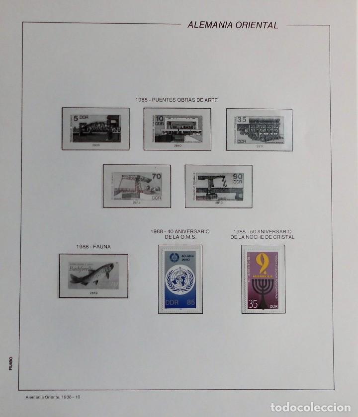 Sellos: COLECCIÓN ALEMANIA ORIENTAL 1948 A 1972, 1973 A 1981 BERLIN, OCCIDENTAL, ALBUM DE SELLOS - Foto 258 - 67324821