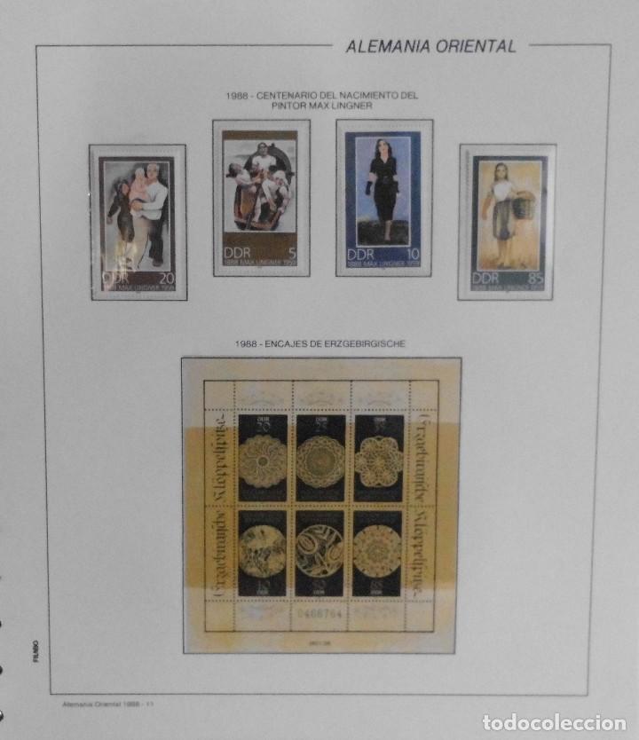 Sellos: COLECCIÓN ALEMANIA ORIENTAL 1948 A 1972, 1973 A 1981 BERLIN, OCCIDENTAL, ALBUM DE SELLOS - Foto 259 - 67324821