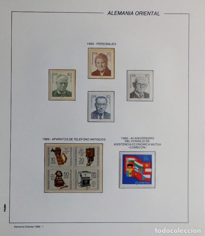 Sellos: COLECCIÓN ALEMANIA ORIENTAL 1948 A 1972, 1973 A 1981 BERLIN, OCCIDENTAL, ALBUM DE SELLOS - Foto 260 - 67324821