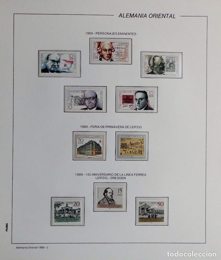 Sellos: COLECCIÓN ALEMANIA ORIENTAL 1948 A 1972, 1973 A 1981 BERLIN, OCCIDENTAL, ALBUM DE SELLOS - Foto 261 - 67324821