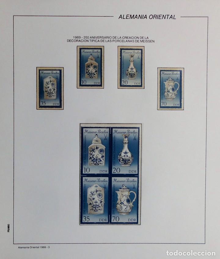 Sellos: COLECCIÓN ALEMANIA ORIENTAL 1948 A 1972, 1973 A 1981 BERLIN, OCCIDENTAL, ALBUM DE SELLOS - Foto 262 - 67324821