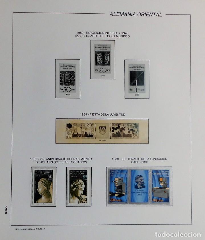 Sellos: COLECCIÓN ALEMANIA ORIENTAL 1948 A 1972, 1973 A 1981 BERLIN, OCCIDENTAL, ALBUM DE SELLOS - Foto 263 - 67324821