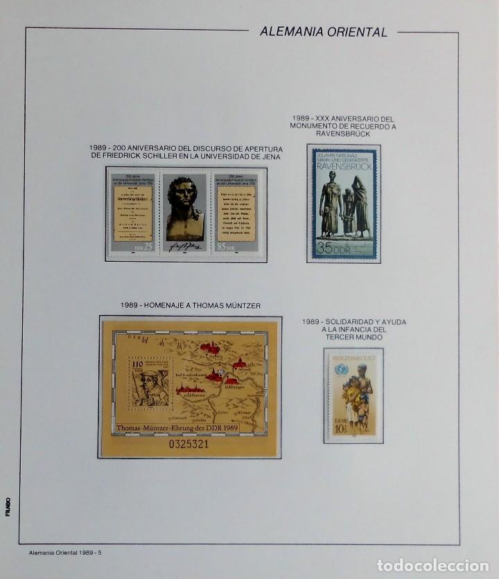 Sellos: COLECCIÓN ALEMANIA ORIENTAL 1948 A 1972, 1973 A 1981 BERLIN, OCCIDENTAL, ALBUM DE SELLOS - Foto 264 - 67324821
