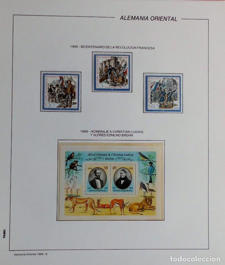 Sellos: COLECCIÓN ALEMANIA ORIENTAL 1948 A 1972, 1973 A 1981 BERLIN, OCCIDENTAL, ALBUM DE SELLOS - Foto 265 - 67324821