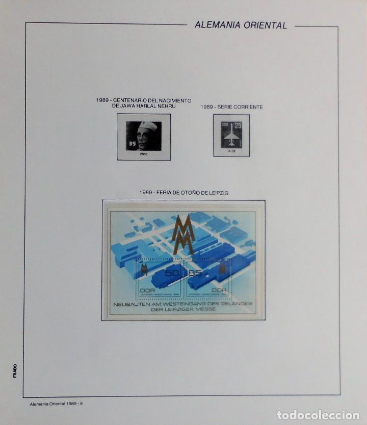 Sellos: COLECCIÓN ALEMANIA ORIENTAL 1948 A 1972, 1973 A 1981 BERLIN, OCCIDENTAL, ALBUM DE SELLOS - Foto 268 - 67324821