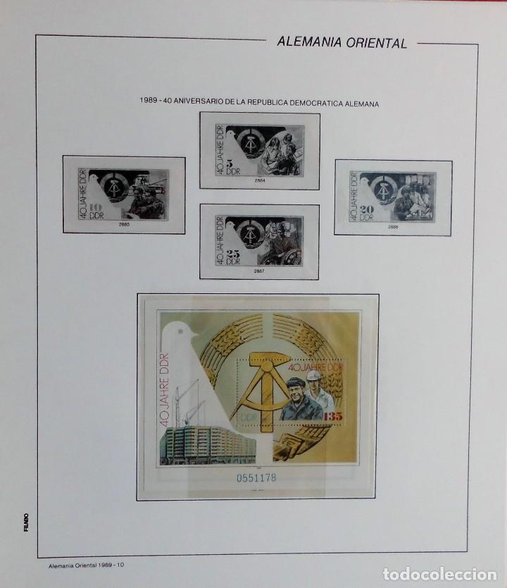 Sellos: COLECCIÓN ALEMANIA ORIENTAL 1948 A 1972, 1973 A 1981 BERLIN, OCCIDENTAL, ALBUM DE SELLOS - Foto 269 - 67324821