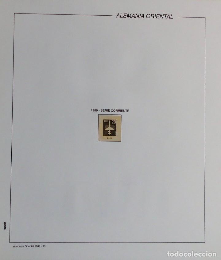 Sellos: COLECCIÓN ALEMANIA ORIENTAL 1948 A 1972, 1973 A 1981 BERLIN, OCCIDENTAL, ALBUM DE SELLOS - Foto 272 - 67324821