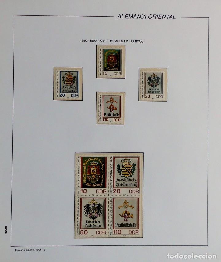 Sellos: COLECCIÓN ALEMANIA ORIENTAL 1948 A 1972, 1973 A 1981 BERLIN, OCCIDENTAL, ALBUM DE SELLOS - Foto 274 - 67324821