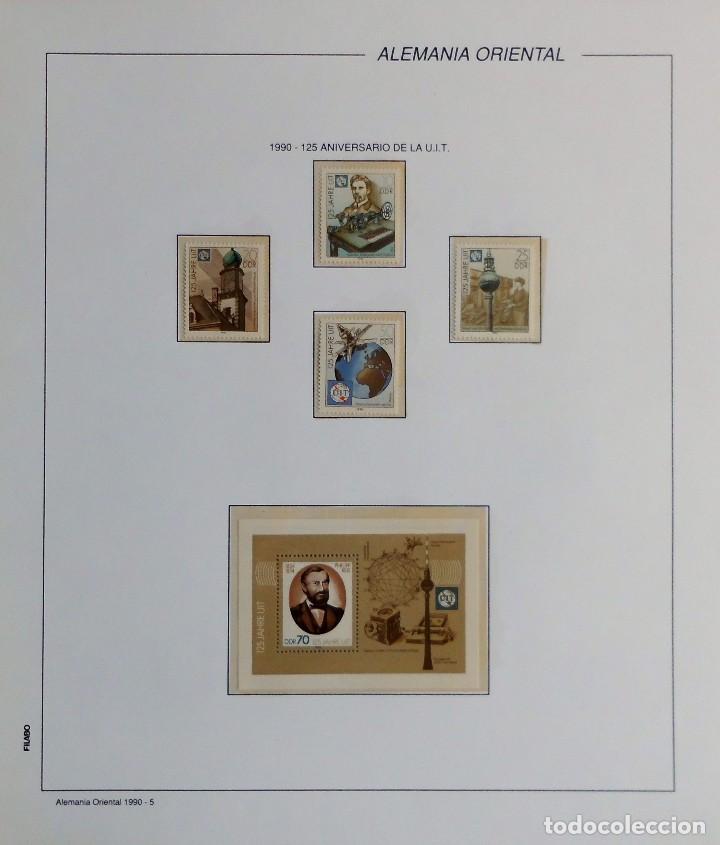 Sellos: COLECCIÓN ALEMANIA ORIENTAL 1948 A 1972, 1973 A 1981 BERLIN, OCCIDENTAL, ALBUM DE SELLOS - Foto 277 - 67324821