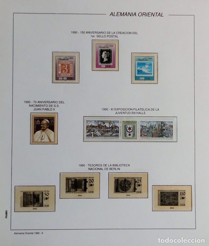 Sellos: COLECCIÓN ALEMANIA ORIENTAL 1948 A 1972, 1973 A 1981 BERLIN, OCCIDENTAL, ALBUM DE SELLOS - Foto 278 - 67324821