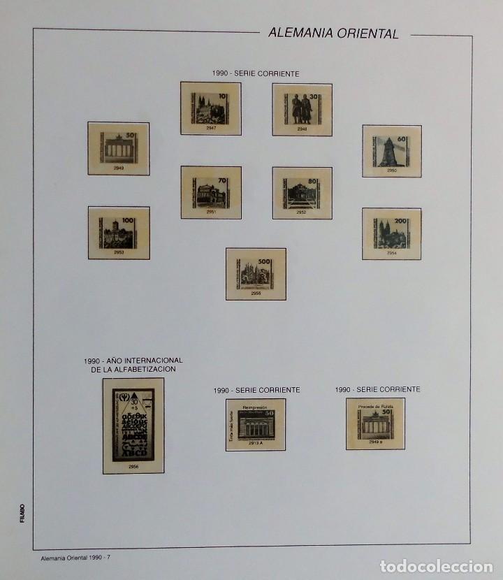 Sellos: COLECCIÓN ALEMANIA ORIENTAL 1948 A 1972, 1973 A 1981 BERLIN, OCCIDENTAL, ALBUM DE SELLOS - Foto 279 - 67324821