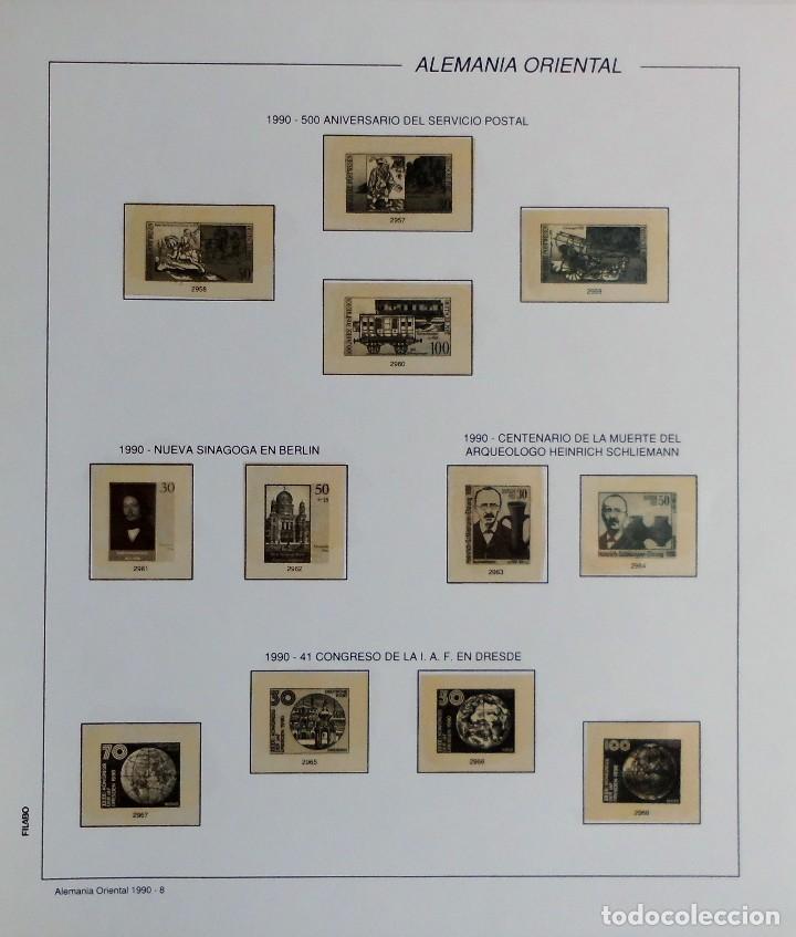 Sellos: COLECCIÓN ALEMANIA ORIENTAL 1948 A 1972, 1973 A 1981 BERLIN, OCCIDENTAL, ALBUM DE SELLOS - Foto 280 - 67324821