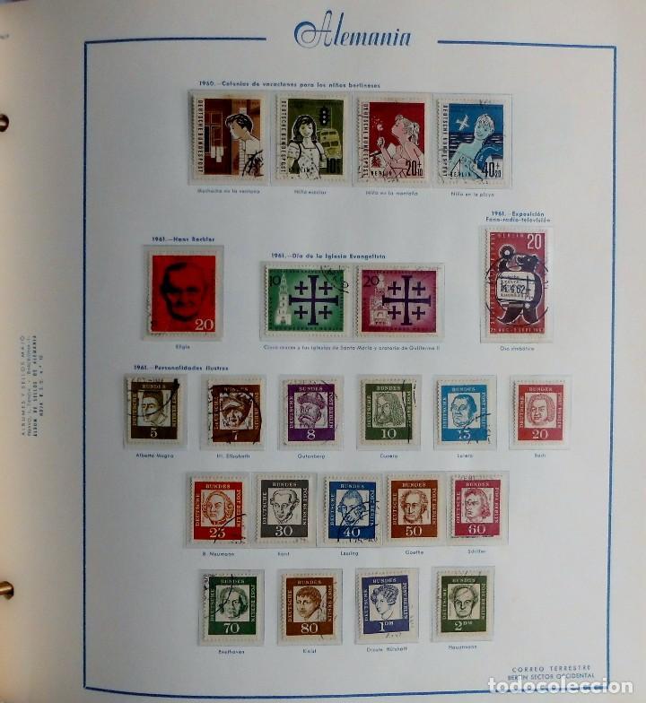Sellos: COLECCIÓN ALEMANIA ORIENTAL 1948 A 1972, 1973 A 1981 BERLIN, OCCIDENTAL, ALBUM DE SELLOS - Foto 282 - 67324821