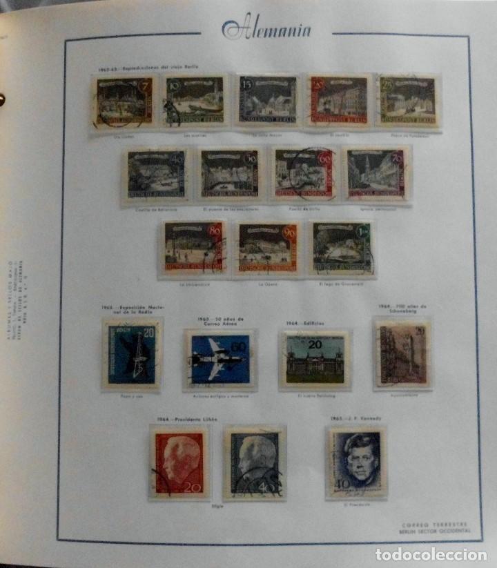 Sellos: COLECCIÓN ALEMANIA ORIENTAL 1948 A 1972, 1973 A 1981 BERLIN, OCCIDENTAL, ALBUM DE SELLOS - Foto 283 - 67324821