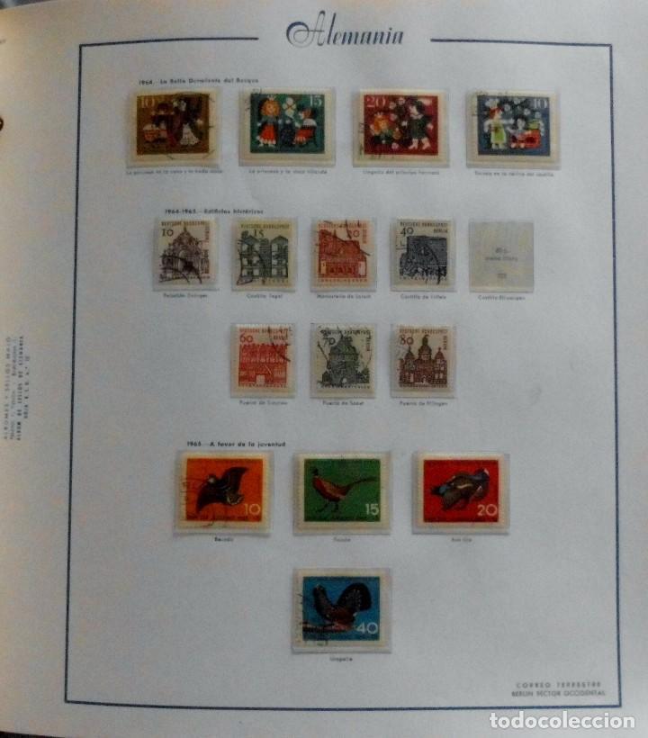 Sellos: COLECCIÓN ALEMANIA ORIENTAL 1948 A 1972, 1973 A 1981 BERLIN, OCCIDENTAL, ALBUM DE SELLOS - Foto 284 - 67324821